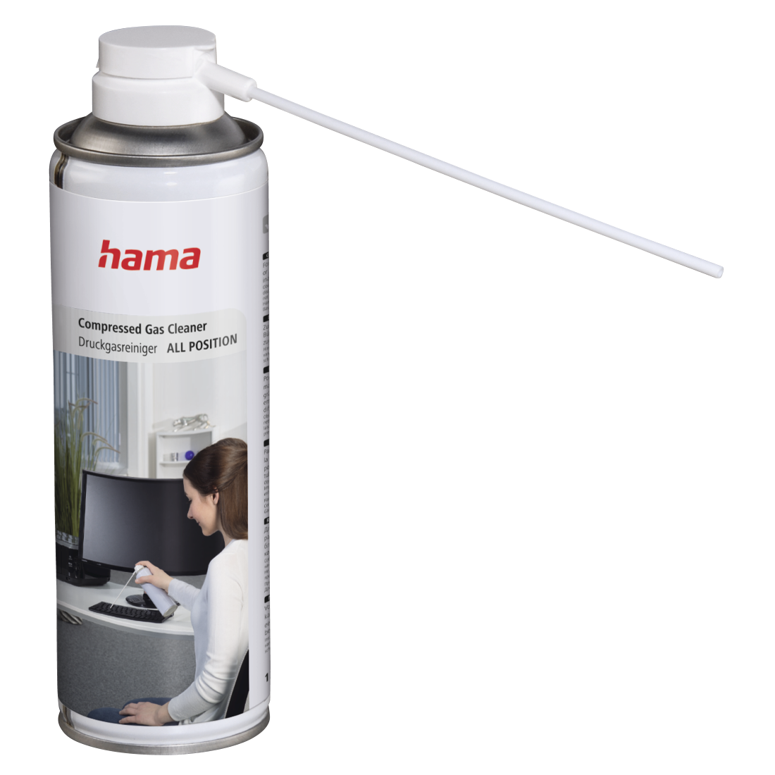 "abx High-Res Image - Hama, ""All Position"" Compressed Gas Cleaner, 125 ml"