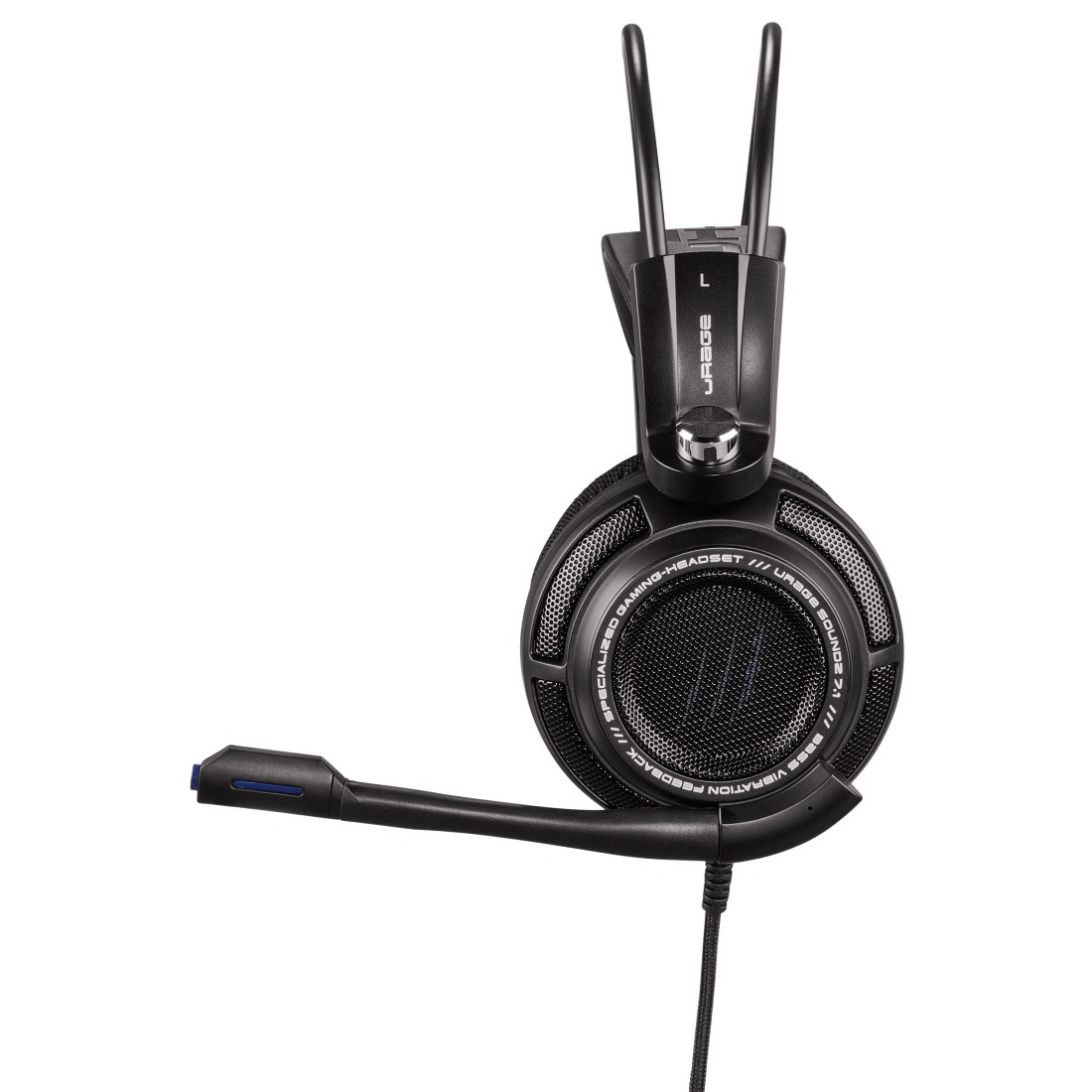 dex High-Res Detail - Hama, uRage SoundZ 7.1 Gaming Headset, black