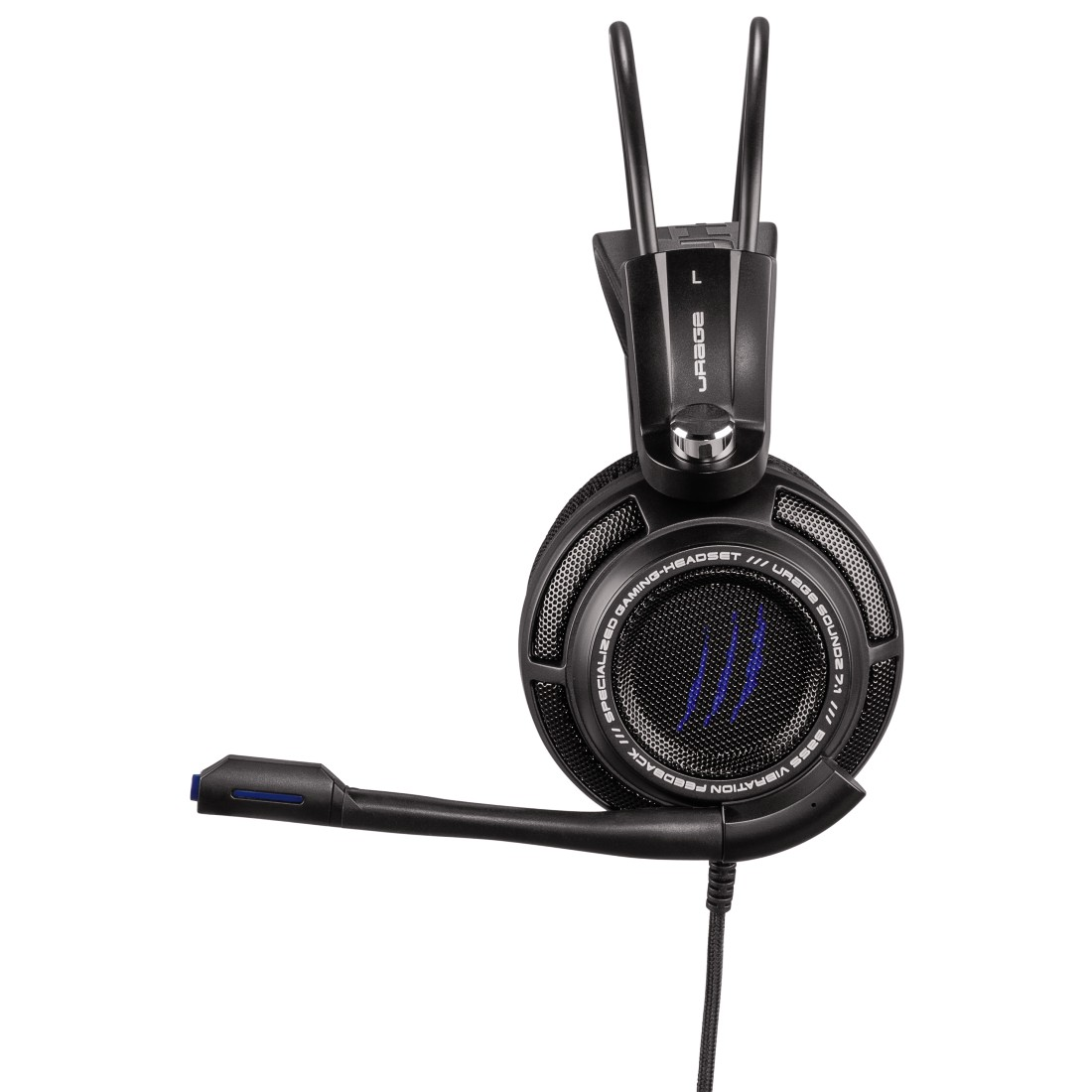 dex2 High-Res Detail 2 - Hama, uRage SoundZ 7.1 Gaming Headset, black