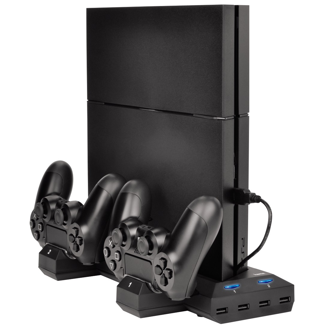 awx7 High-Res Appliance 7 - Hama, Bluelight Multi-Stand Charging Station for PS4