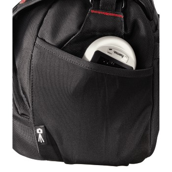 det12 Detailansicht 12 - Hama, Protour Camera Bag, 200, black