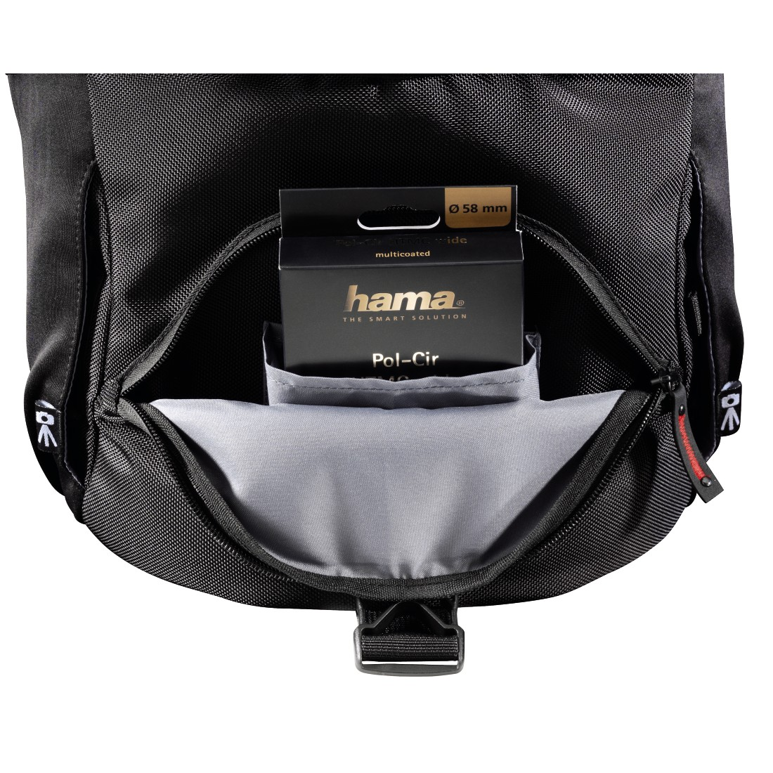 dex8 High-Res Detail 8 - Hama, Protour Camera Bag, 200, black