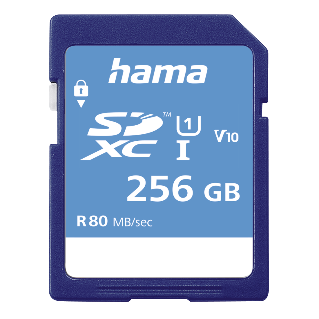 abx High-Res Image - Hama, SDXC 256GB Class 10 UHS-I 80MB/s