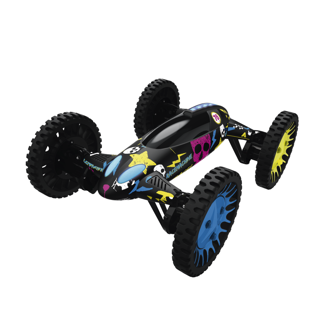 "abx2 High-Res Image 2 - Hama, ""Racemachine"" 2-in-1 Quadrocopter/RC Car, 6-Axis Gyro-Sensor, 720p Camera"