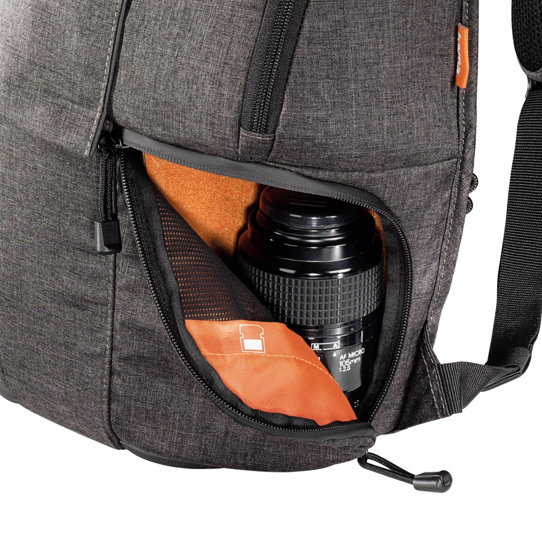 dex5 High-Res Detail 5 - Hama, Lismore Camera Backpack, 170, black