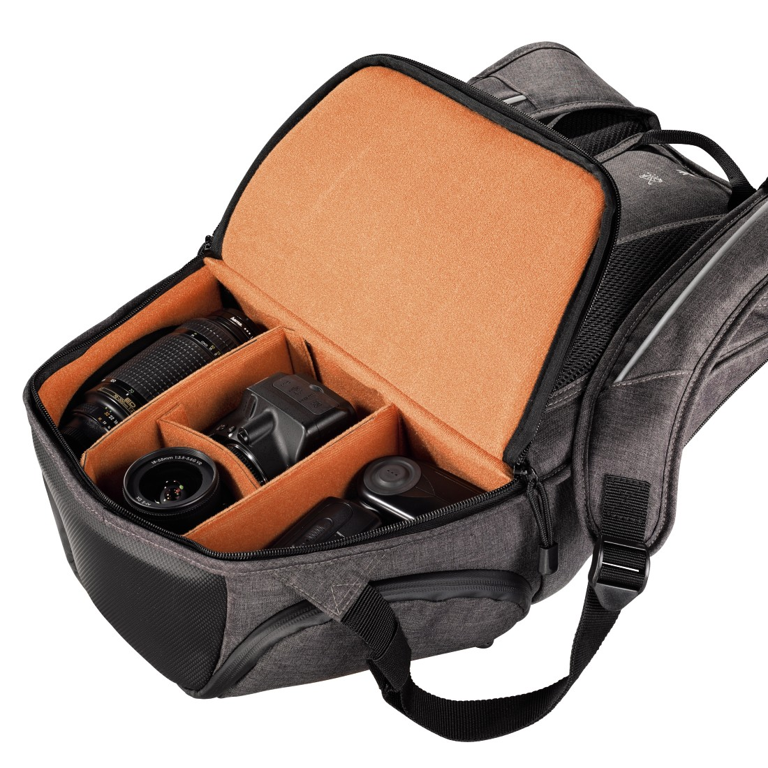 dex6 High-Res Detail 6 - Hama, Lismore Camera Backpack, 170, black