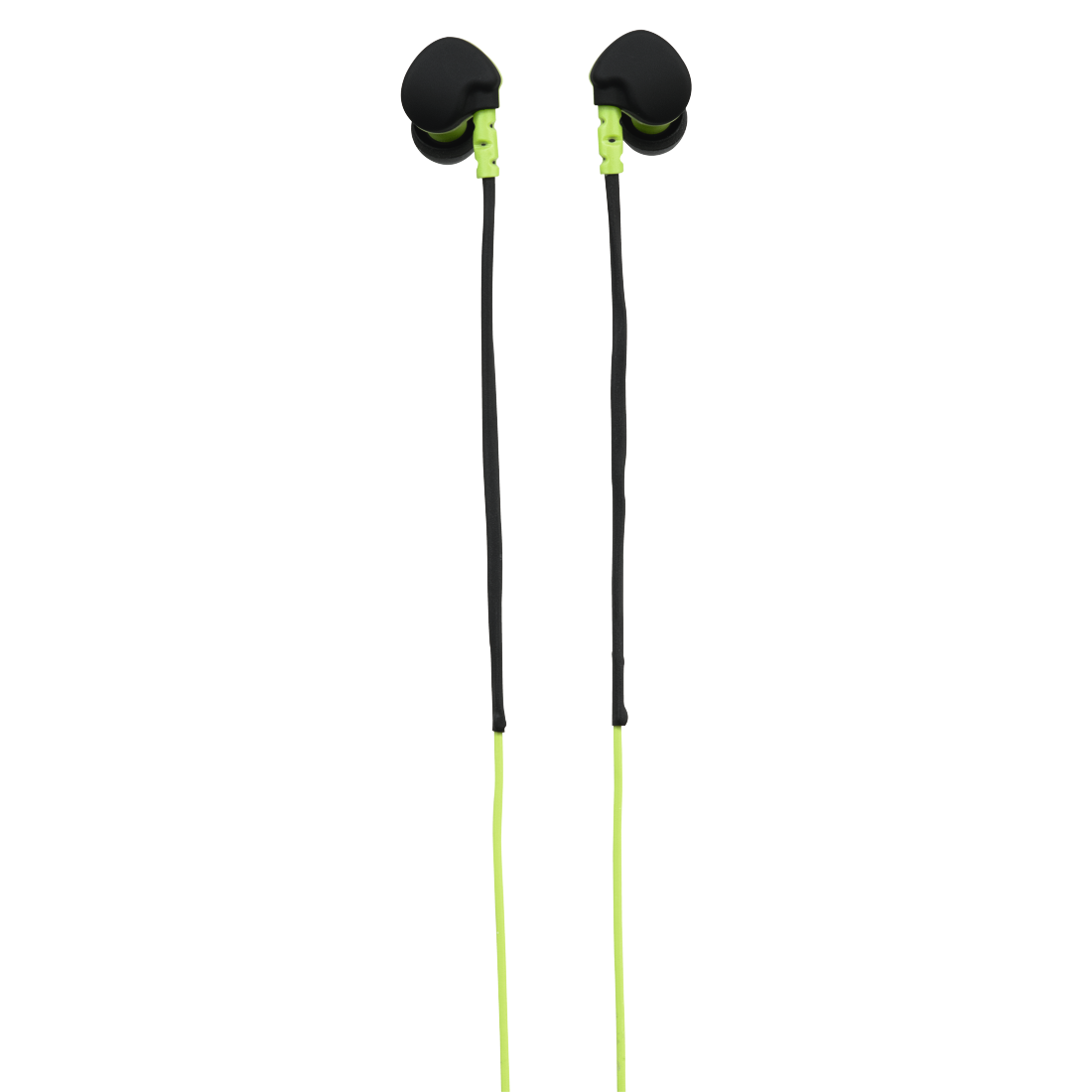 abx2 High-Res Image 2 - Hama, Run Clip-On Sport Earphones, black/green