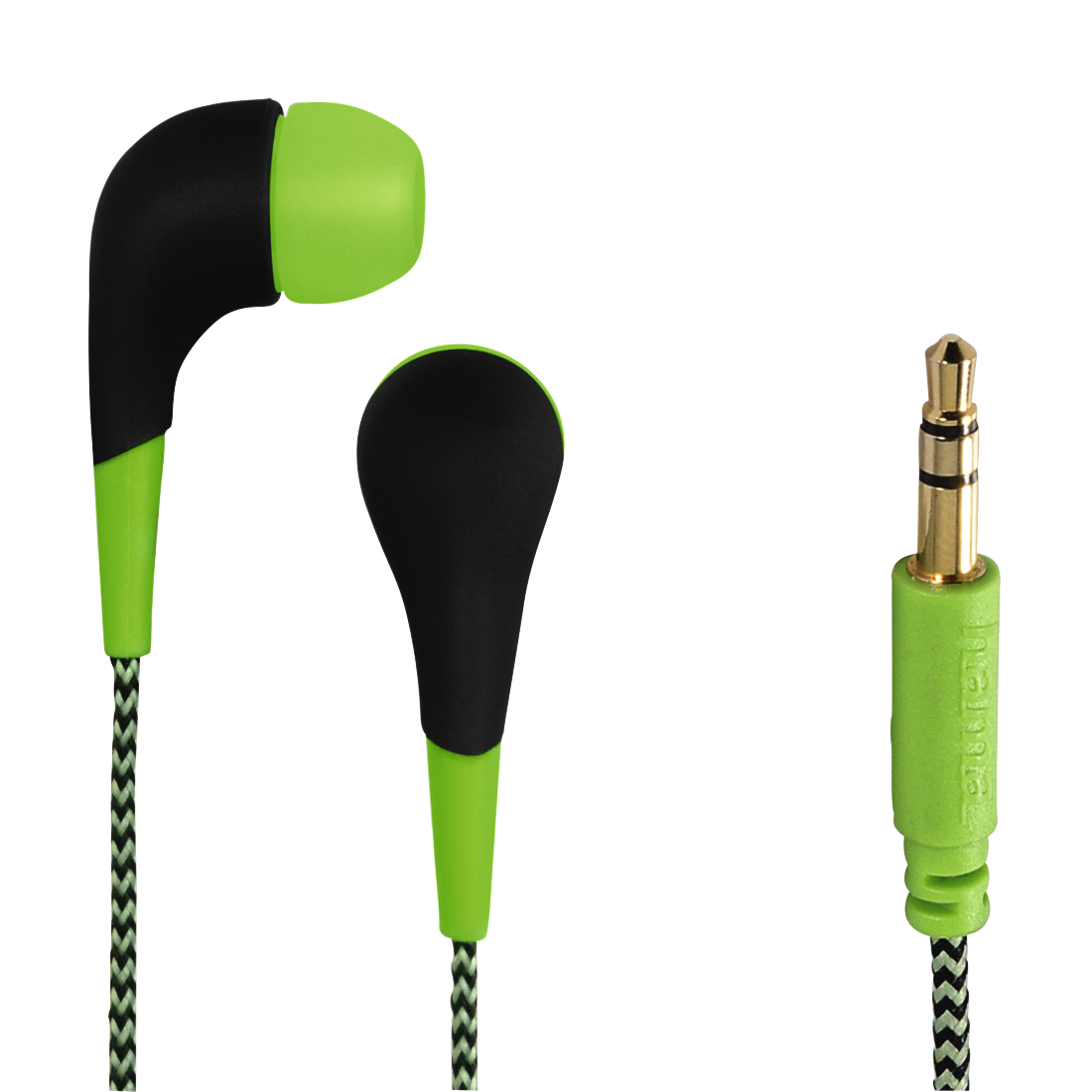 "abx High-Res Image - Hama, ""Neon"" In-Ear Stereo Headphones, green"
