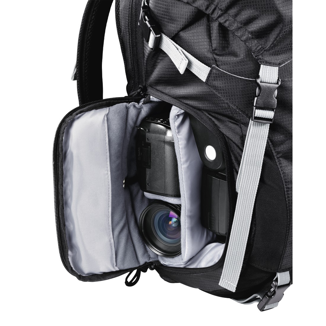 dex8 High-Res Detail 8 - Hama, Trekkingtour Camera Backpack, 140, black