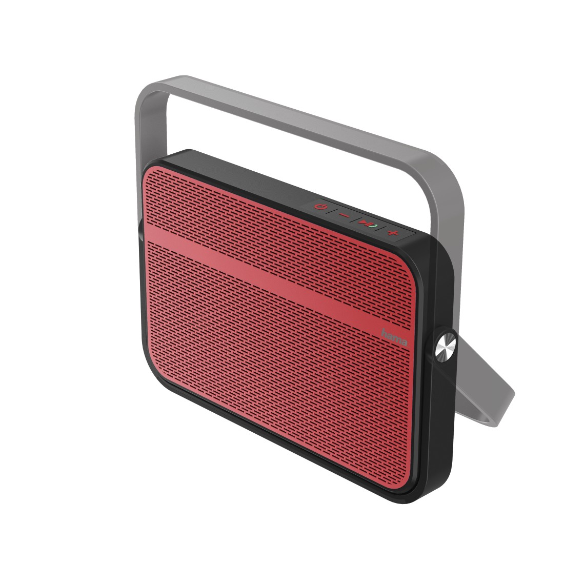 abx3 High-Res Image 3 - Hama, Blade Mobile Bluetooth Speaker, red/black