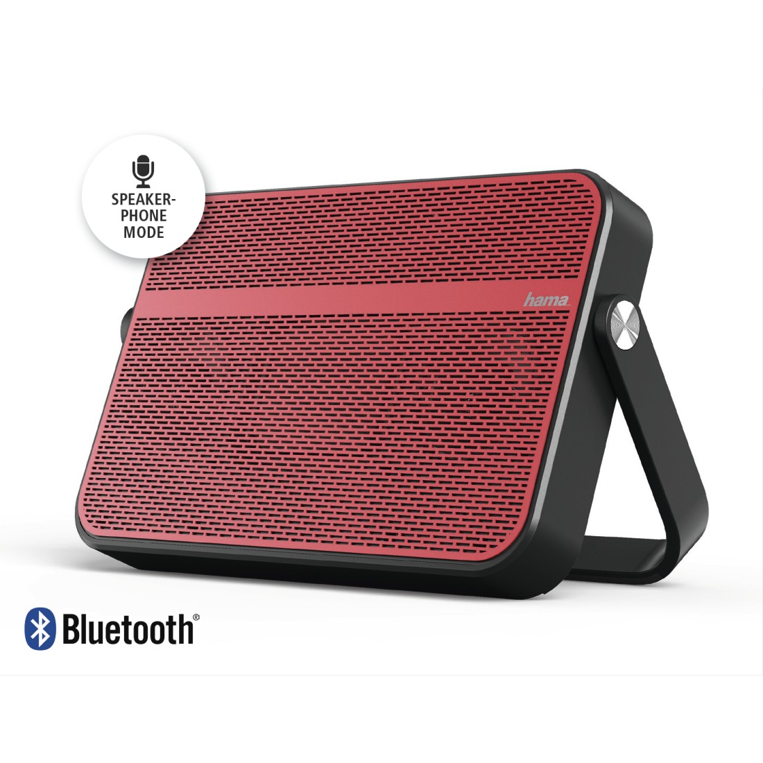 abx4 High-Res Image4 - Hama, Blade Mobile Bluetooth Speaker, red/black