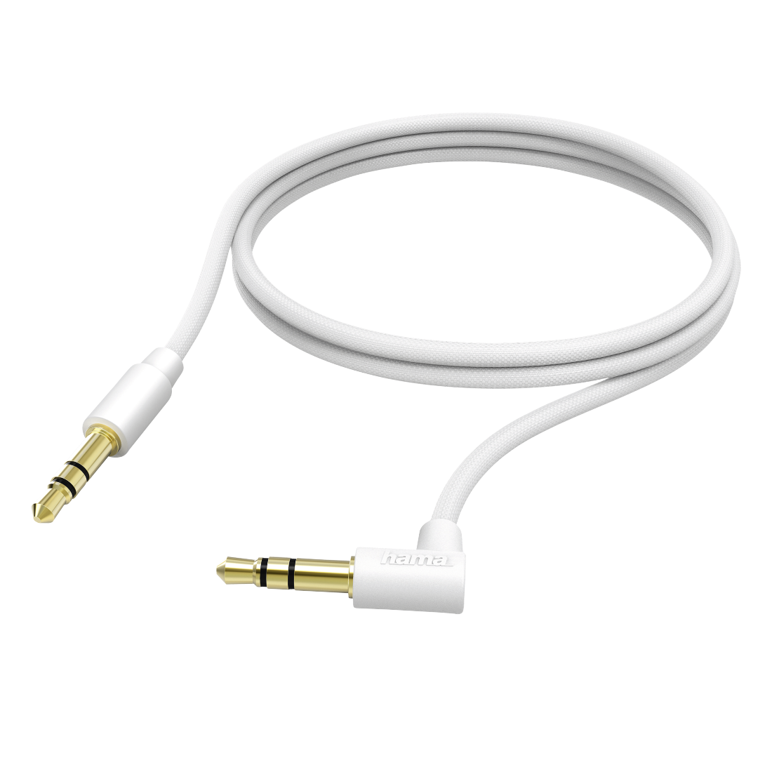 abx High-Res Image - Hama, Connecting Cable, 3.5 mm jack plug, 1.0 m, white