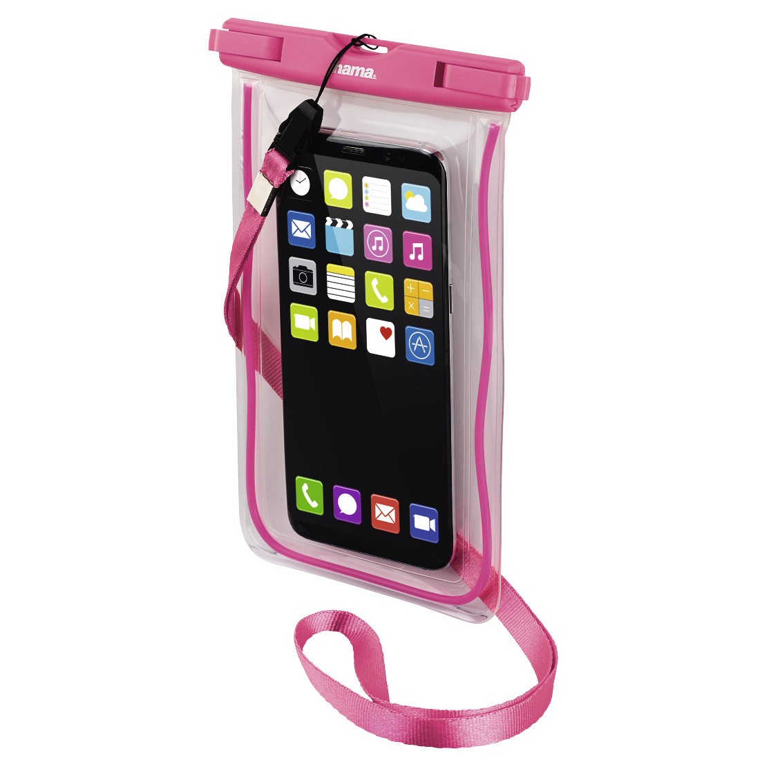 abx3 High-Res Image 3 - Hama, Playa Outdoor Bag for Smartphones, Size XXL, pink
