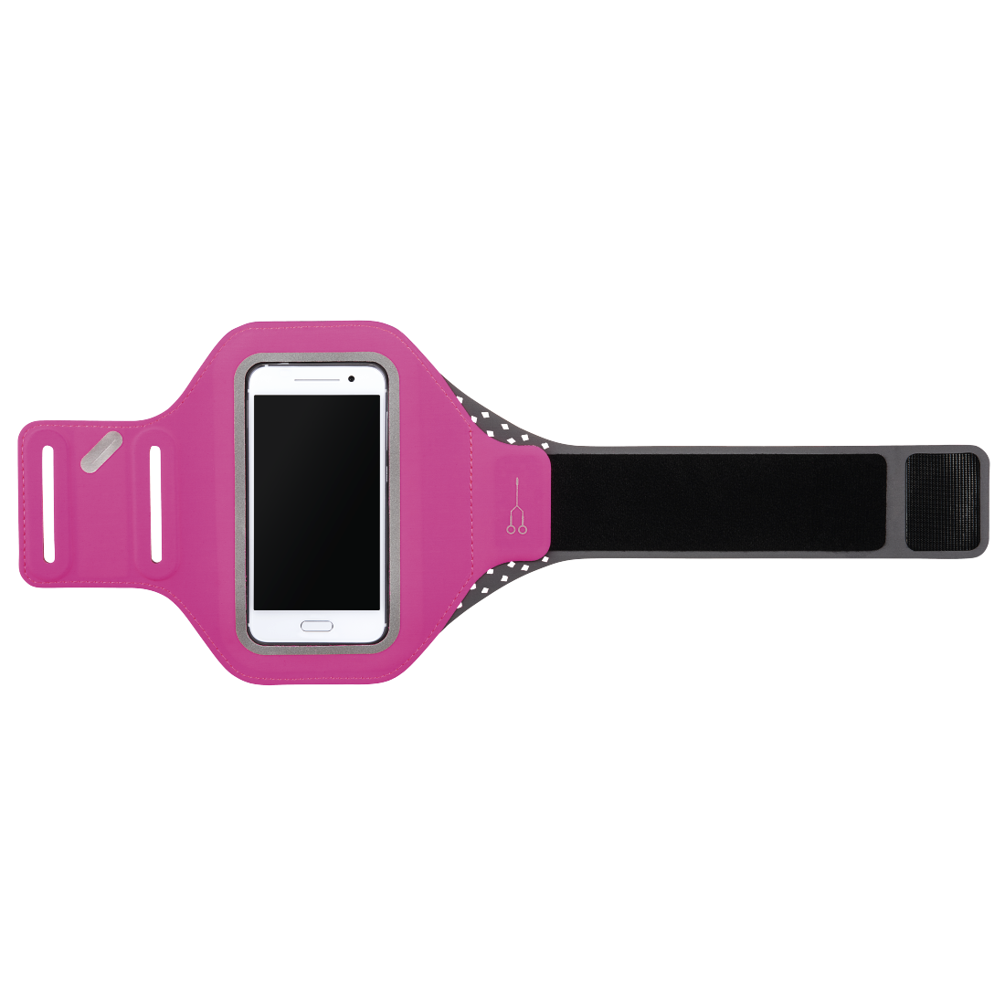 "abx2 High-Res Image 2 - Hama, ""Running"" Sports Arm Band for Smartphones, Size XXL, pink"