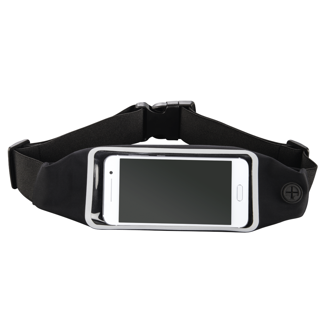 "abx High-Res Image - Hama, ""Running"" Sports Hip Pouch for Smartphones, with Viewing Window, black"
