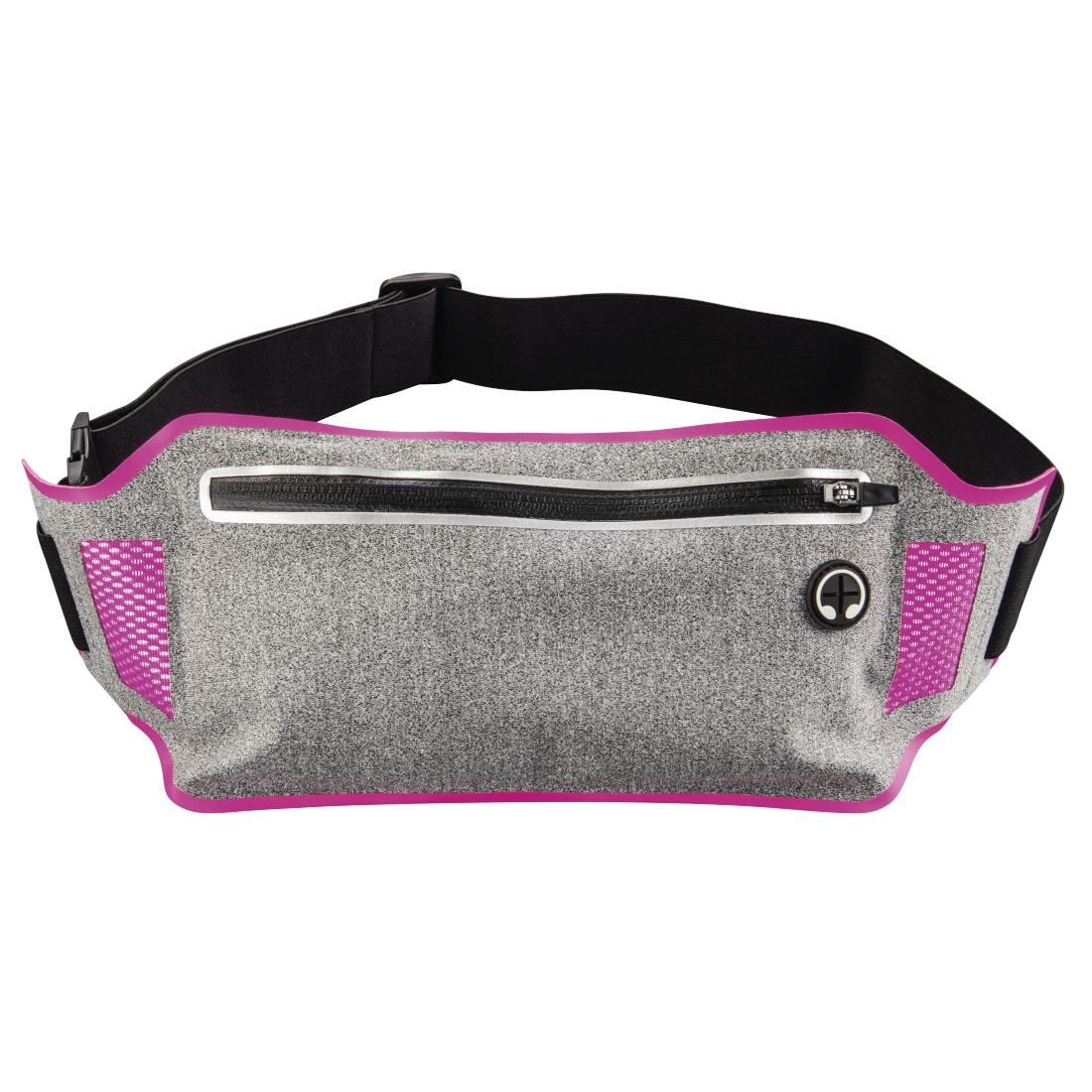 abx High-Res Image - Hama, Running Sports Hip Pouch for Smartphones, grey/pink