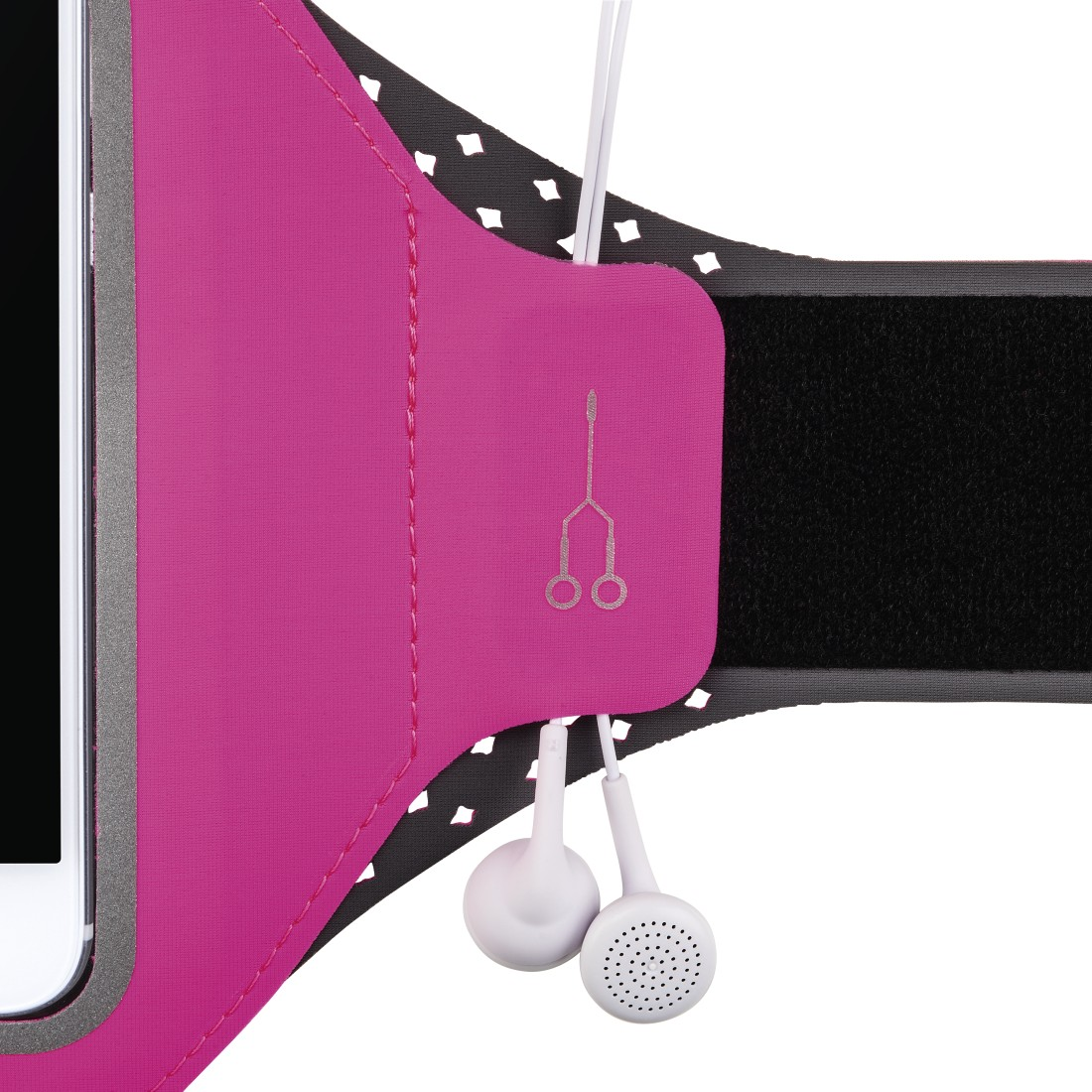 "dex High-Res Detail - Hama, ""Running"" Sports Arm Band for Smartphones, Size XXL, pink"