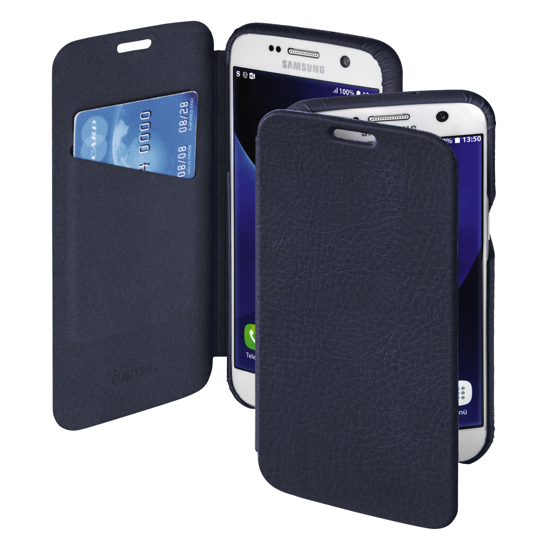 abx High-Res Image - Hama, Ricardo Booklet Case for Samsung Galaxy S7, blue