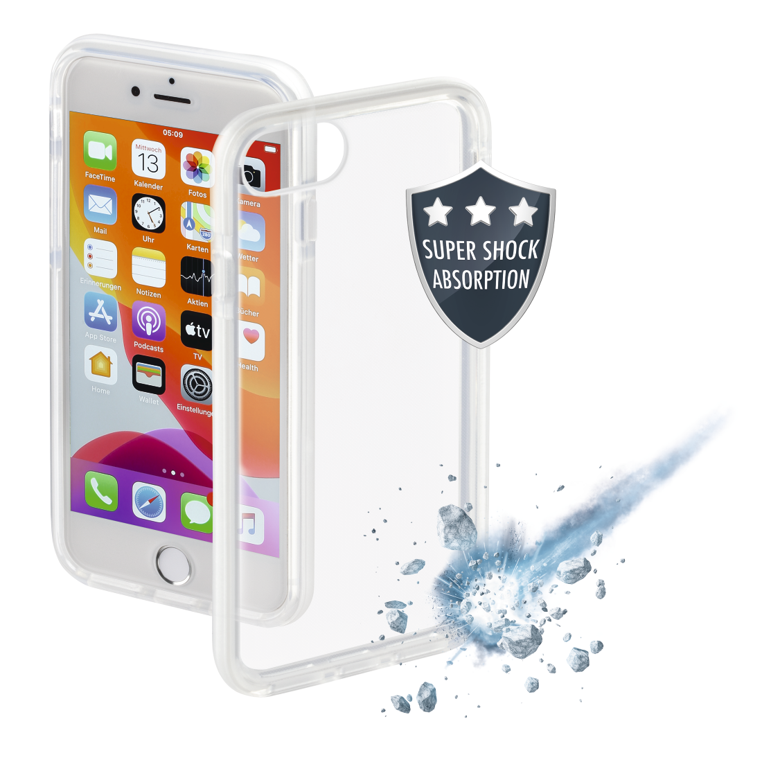 "abx High-Res Image - Hama, ""Protector"" Cover for Apple iPhone 7/8/SE 2020, white"