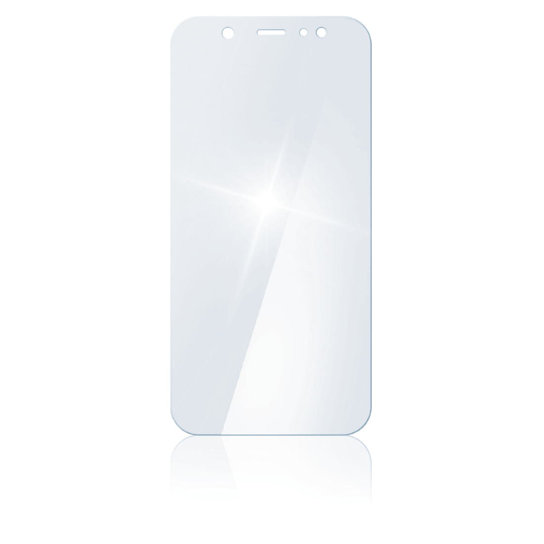 "abx2 High-Res Image 2 - Hama, ""Premium Crystal Glass"" Real Glass Screen Protect. Samsung Galaxy A8 (2018)"