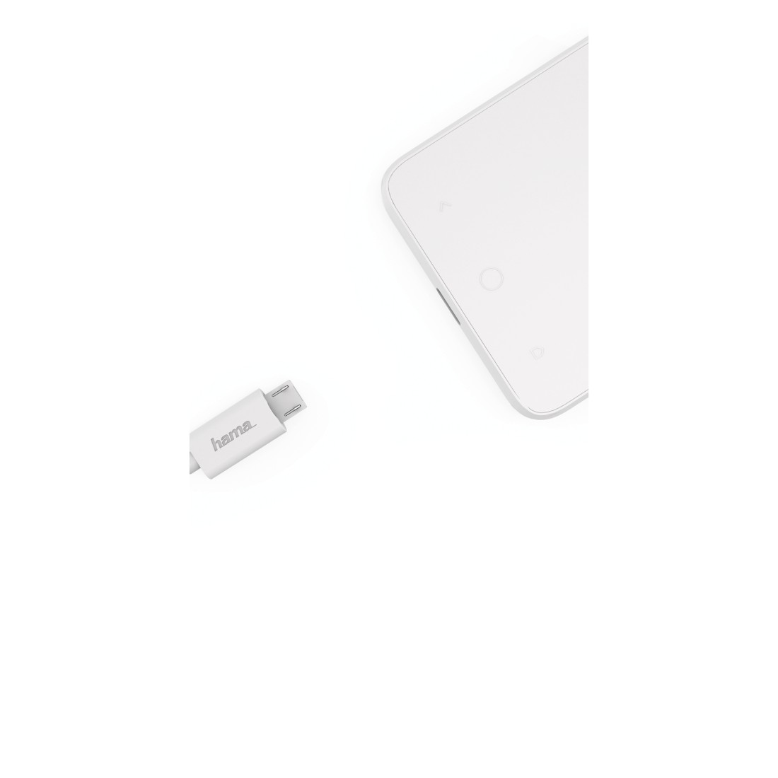 dex High-Res Detail - Hama, Adapter, micro USB to USB Type-C plug, black