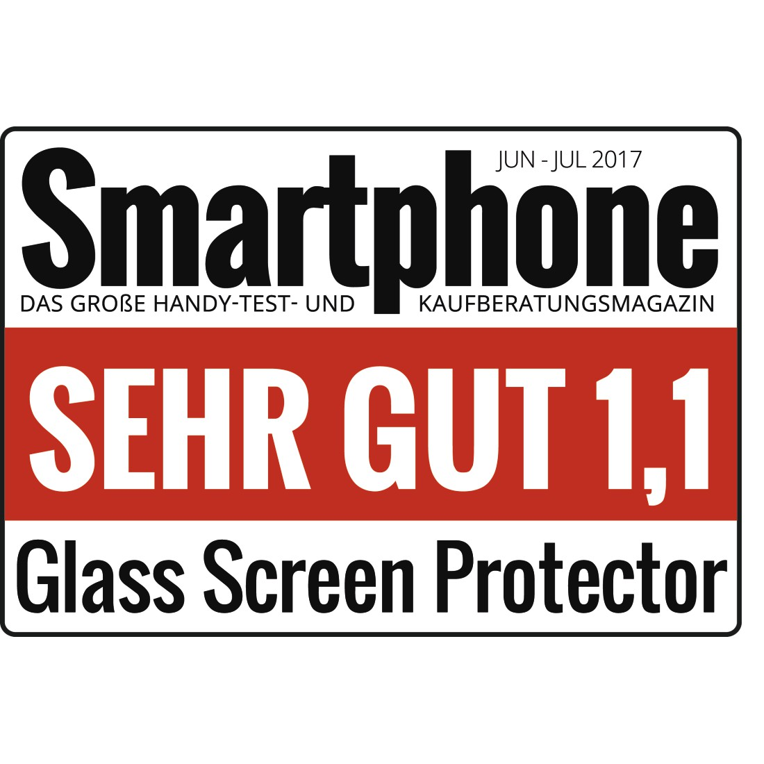 "tex Druckfähiges Testurteil - Hama, ""Premium Crystal Glass"" Real Glass Screen Protect. Samsung Galaxy A8 (2018)"