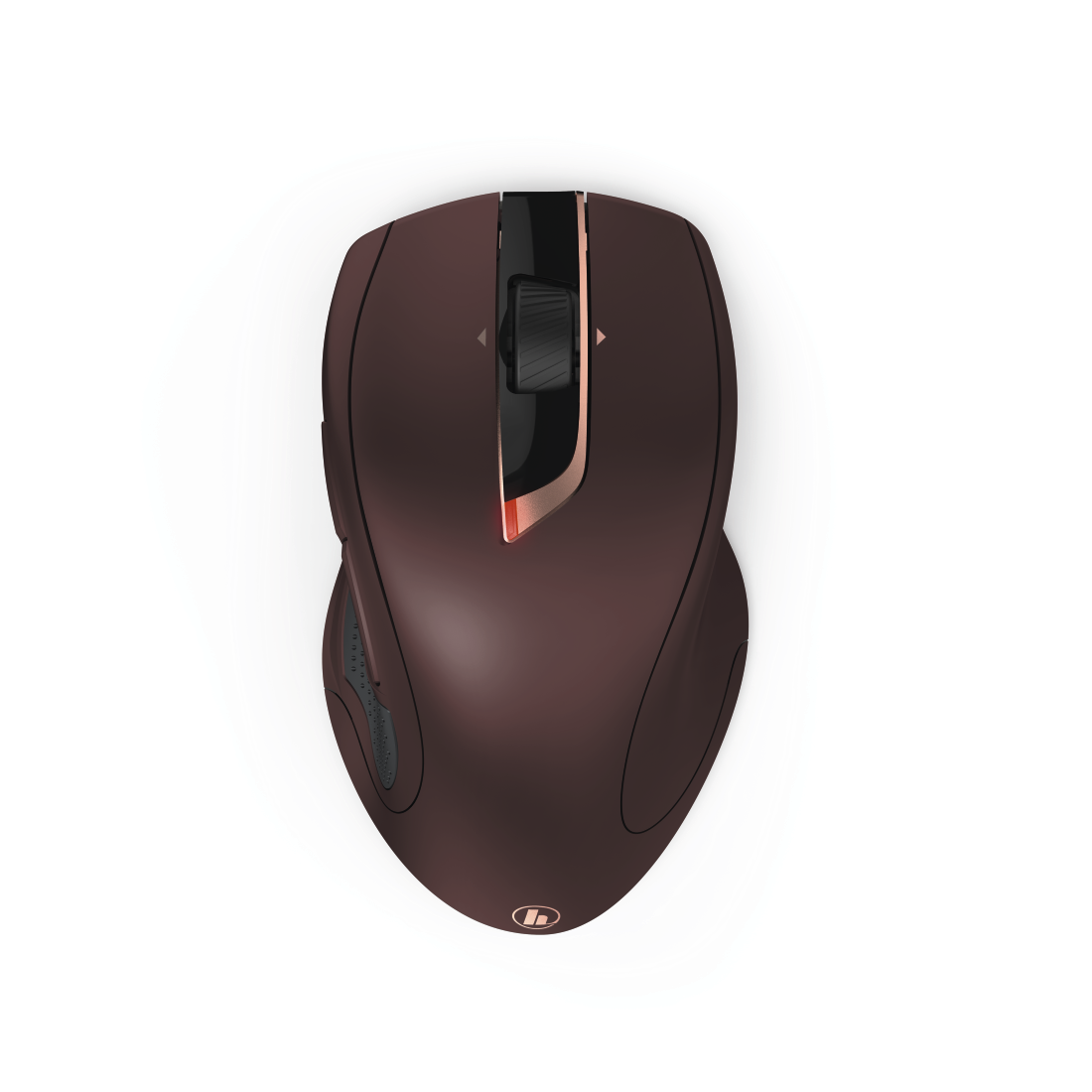 "abx3 High-Res Image 3 - Hama, ""MW-900"" 7-Button Laser Wireless Mouse, Auto-dpi, bordeaux"