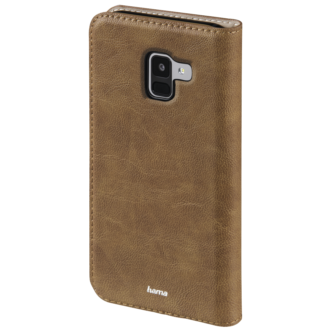 abx2 High-Res Image 2 - Hama, Guard Case Booklet for Samsung Galaxy A8 (2018), brown