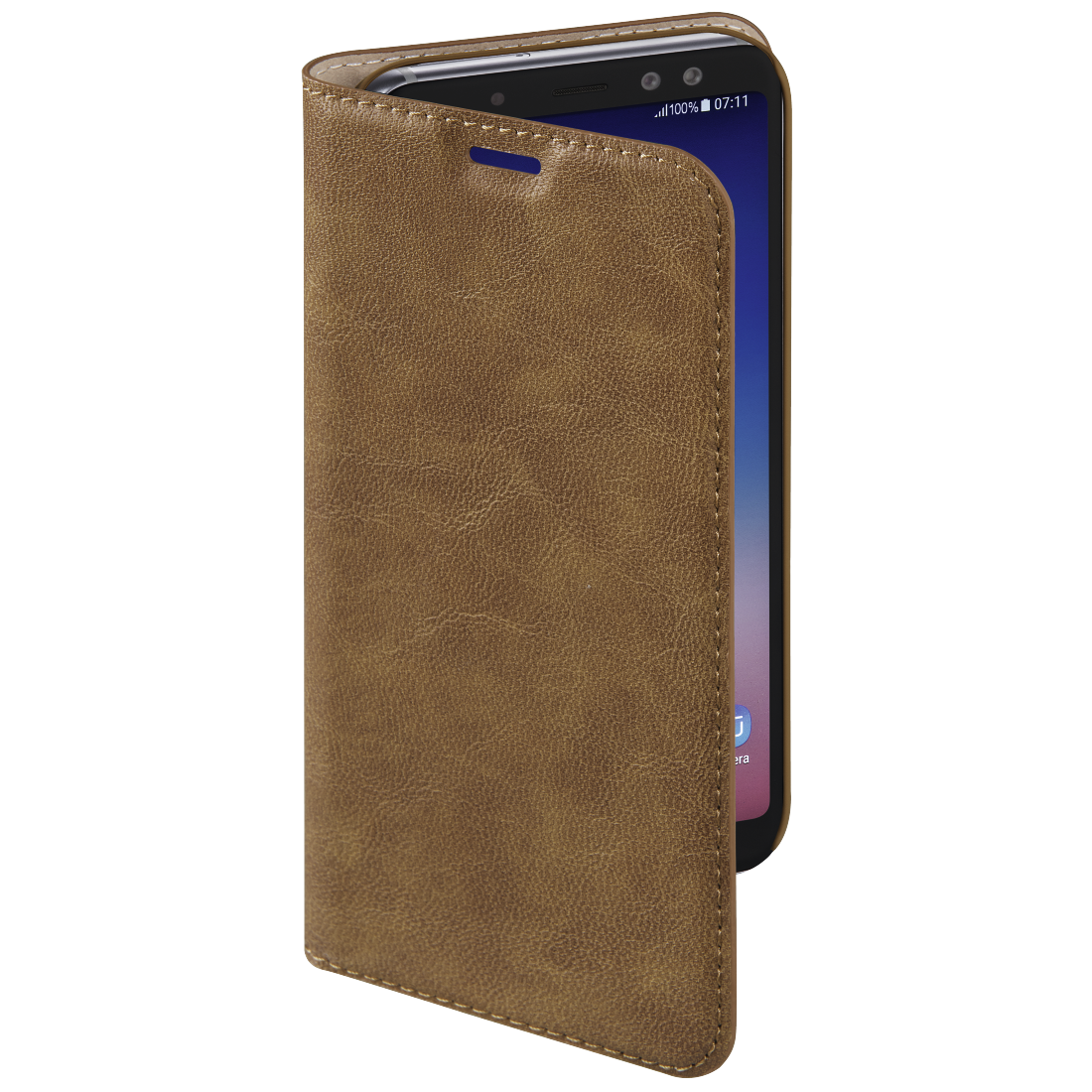 abx3 High-Res Image 3 - Hama, Guard Case Booklet for Samsung Galaxy A8 (2018), brown