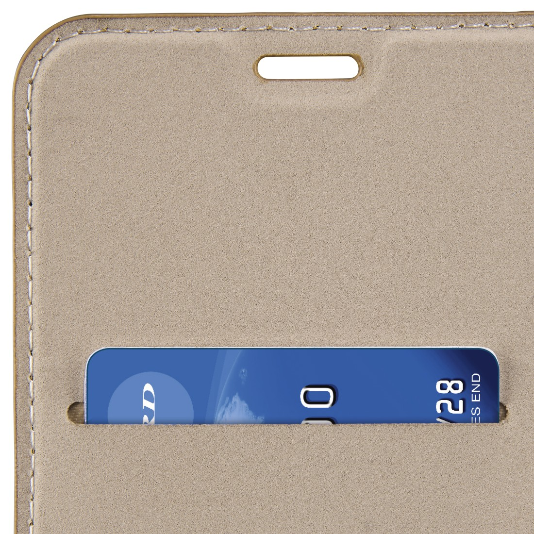 dex High-Res Detail - Hama, Guard Case Booklet for Samsung Galaxy A8 (2018), brown