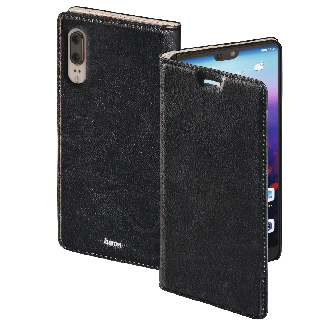 abx High-Res Image - Hama, Guard Case Booklet for Huawei P20, black