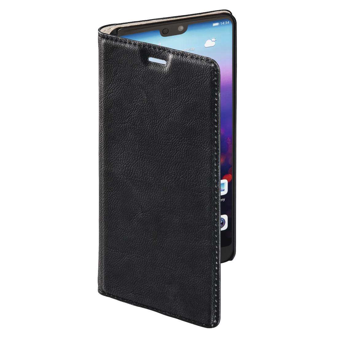 abx3 High-Res Image 3 - Hama, Guard Case Booklet for Huawei P20, black