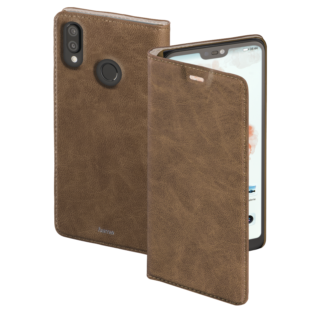 "abx High-Res Image - Hama, ""Guard Case"" Booklet for Huawei P20 Lite, brown"