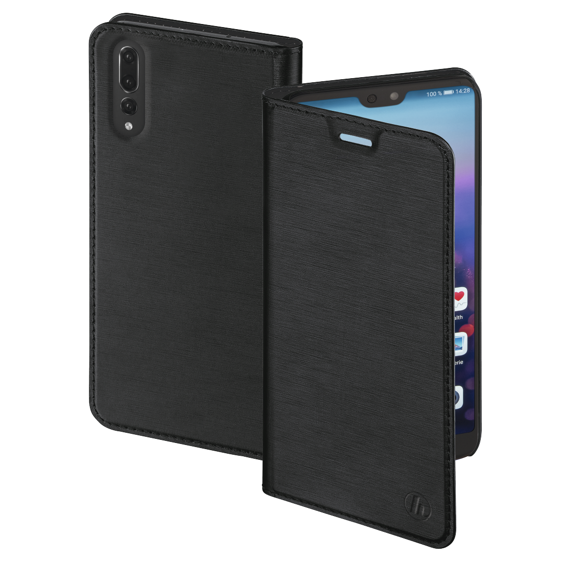 "abx High-Res Image - Hama, ""Slim"" Booklet for Huawei P20 Pro, black"