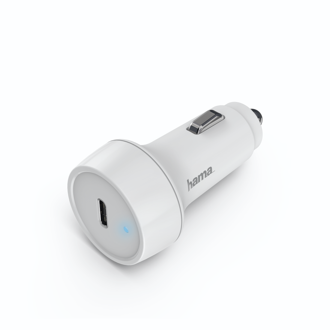 abx2 High-Res Image 2 - Hama, Car Charger, Power Delivery (PD) / Qualcomm®, 18 W, white