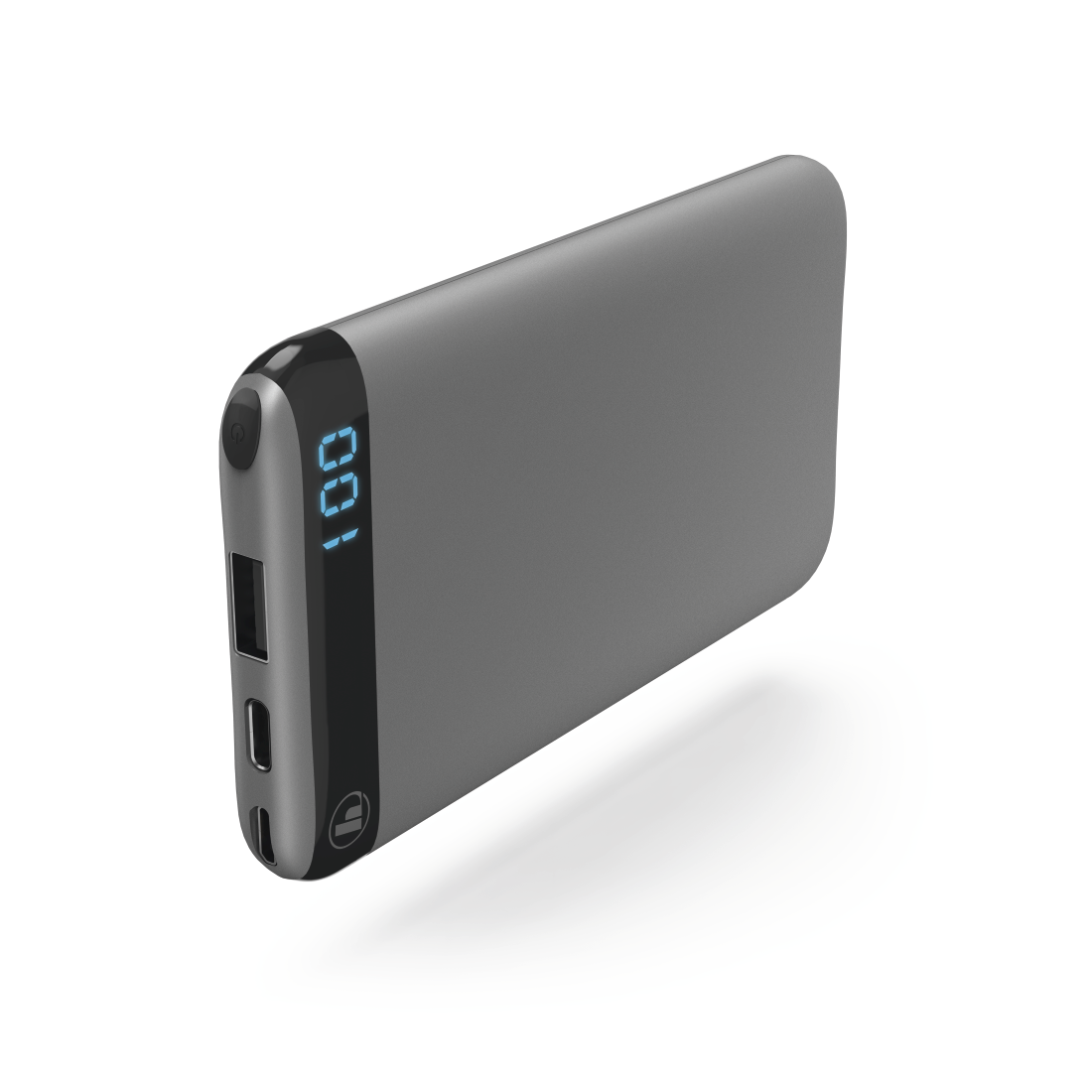 "abx High-Res Image - Hama, ""LED6S"" Power Pack, 6000 mAh, anthracite"