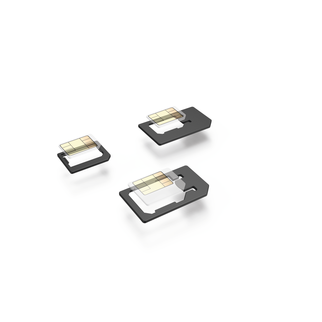 abx High-Res Image - Hama, SIM Card Adapter, 5-Part Set
