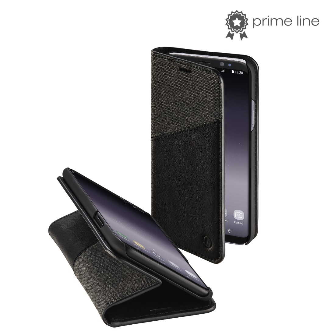 "uax Printable Image Logo - Hama, ""Gentle"" Booklet for Samsung Galaxy S9, black"