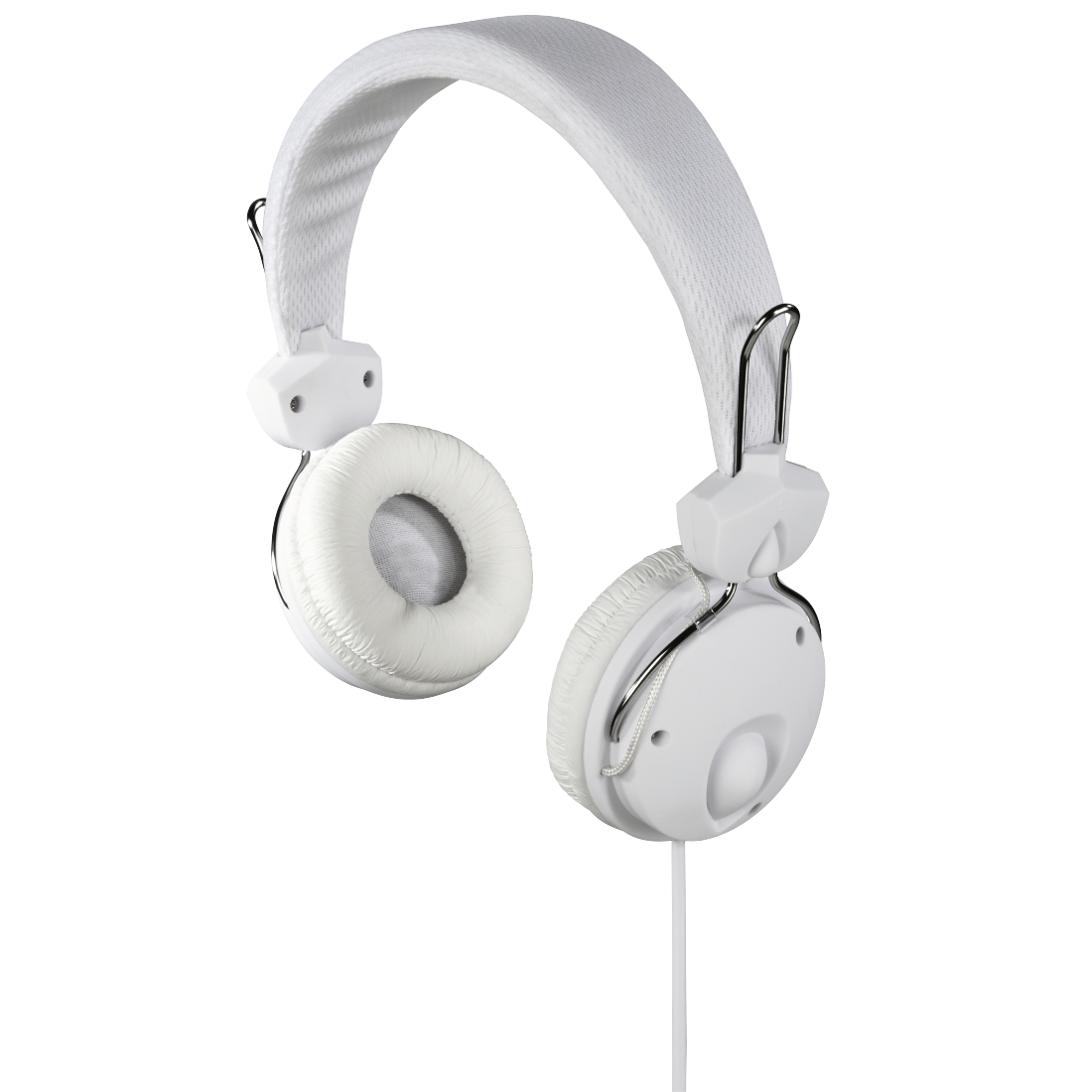 "abx High-Res Image - Hama, ""Fun4Music"" On-Ear Stereo Headphones, white"