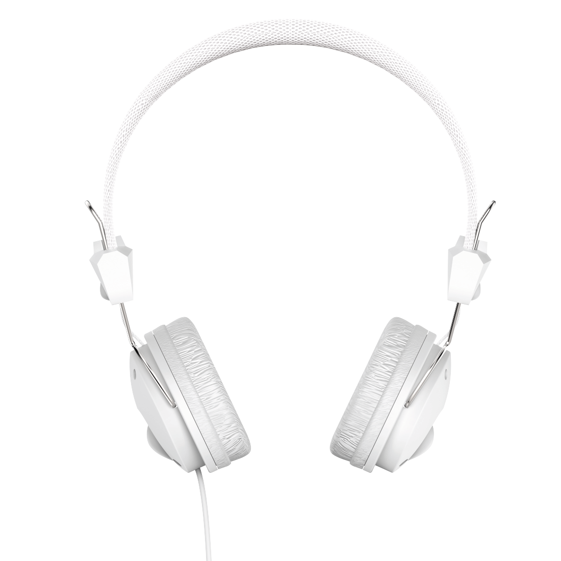 "abx2 High-Res Image 2 - Hama, ""Fun4Music"" On-Ear Stereo Headphones, white"