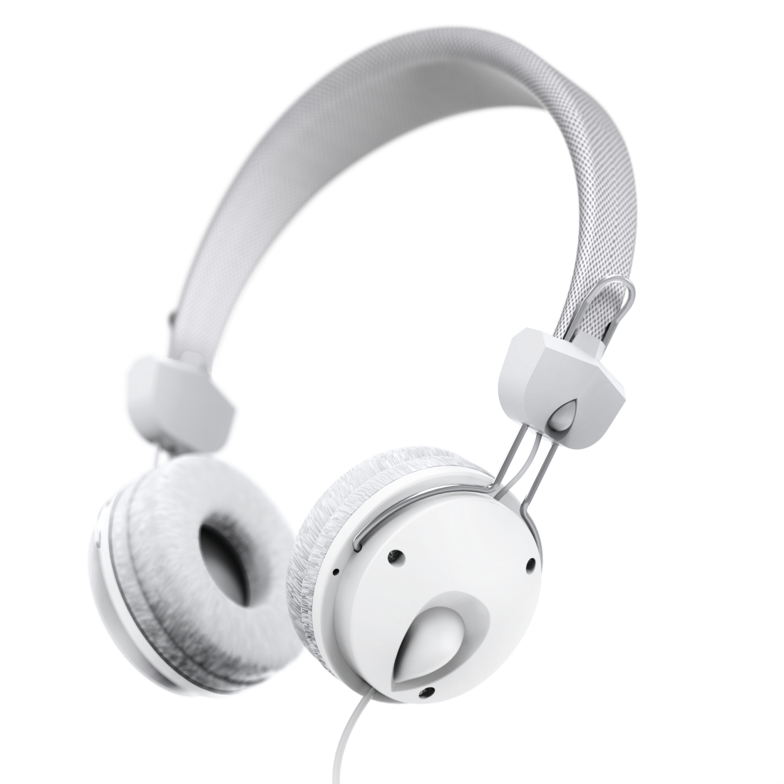 "abx4 High-Res Image4 - Hama, ""Fun4Music"" On-Ear Stereo Headphones, white"