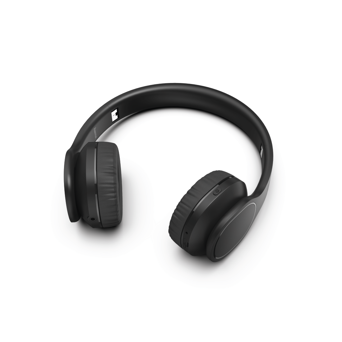 "abx2 High-Res Image 2 - Hama, Bluetooth® ""Touch"" headphones, on-ear, microphone, touch control, black"
