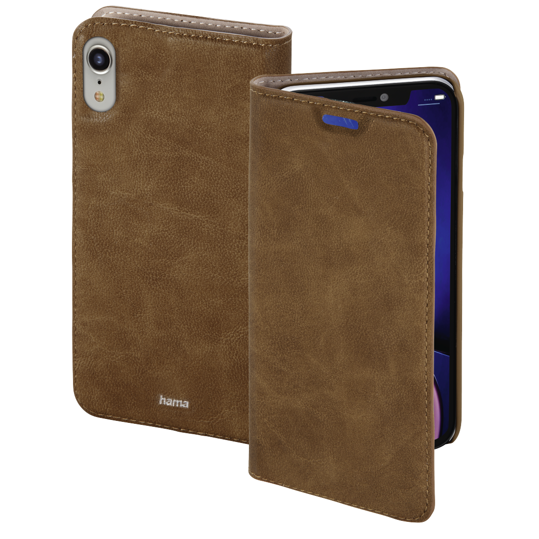 abx High-Res Image - Hama, Guard Case booklet for Apple iPhone XR, brown