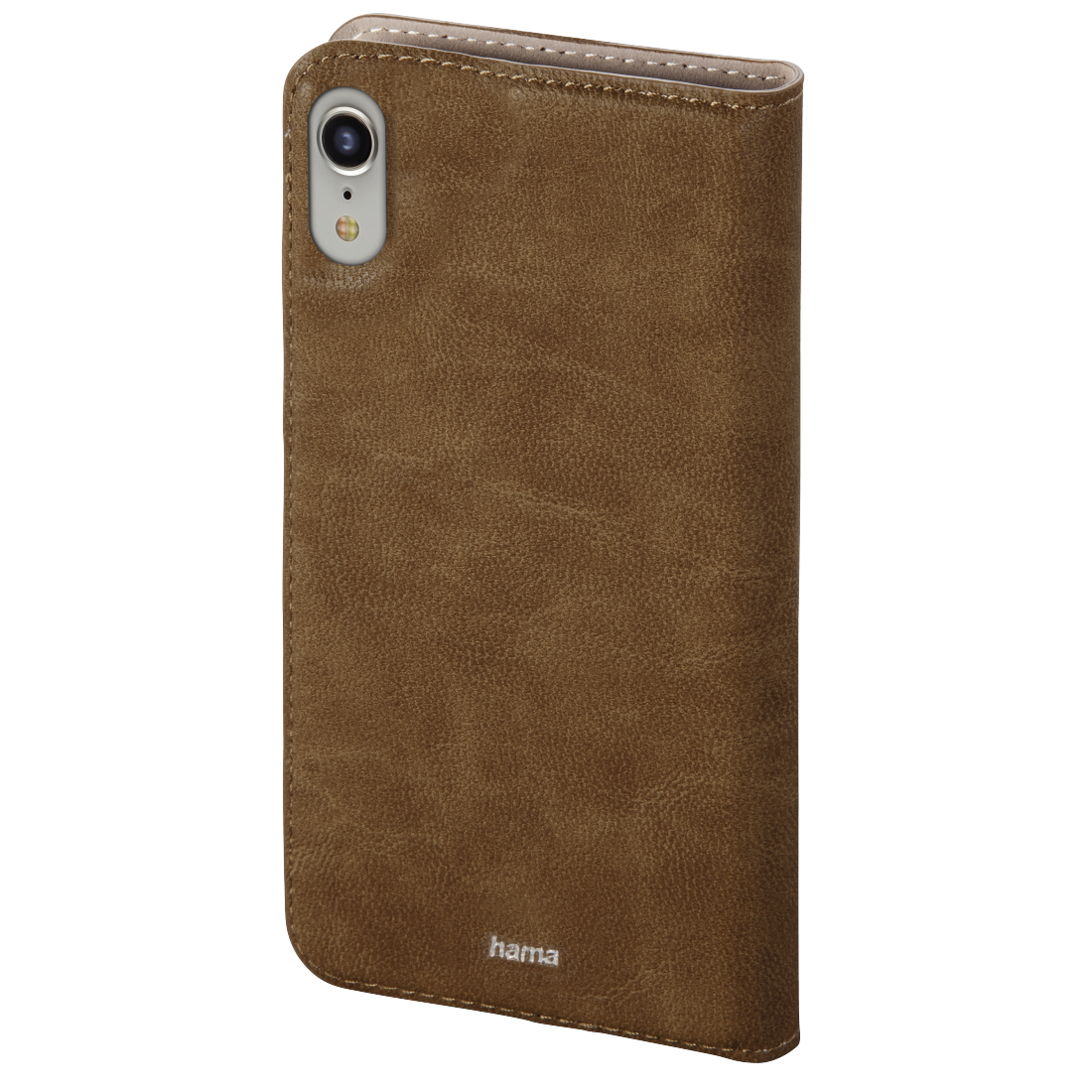 abx2 High-Res Image 2 - Hama, Guard Case booklet for Apple iPhone XR, brown