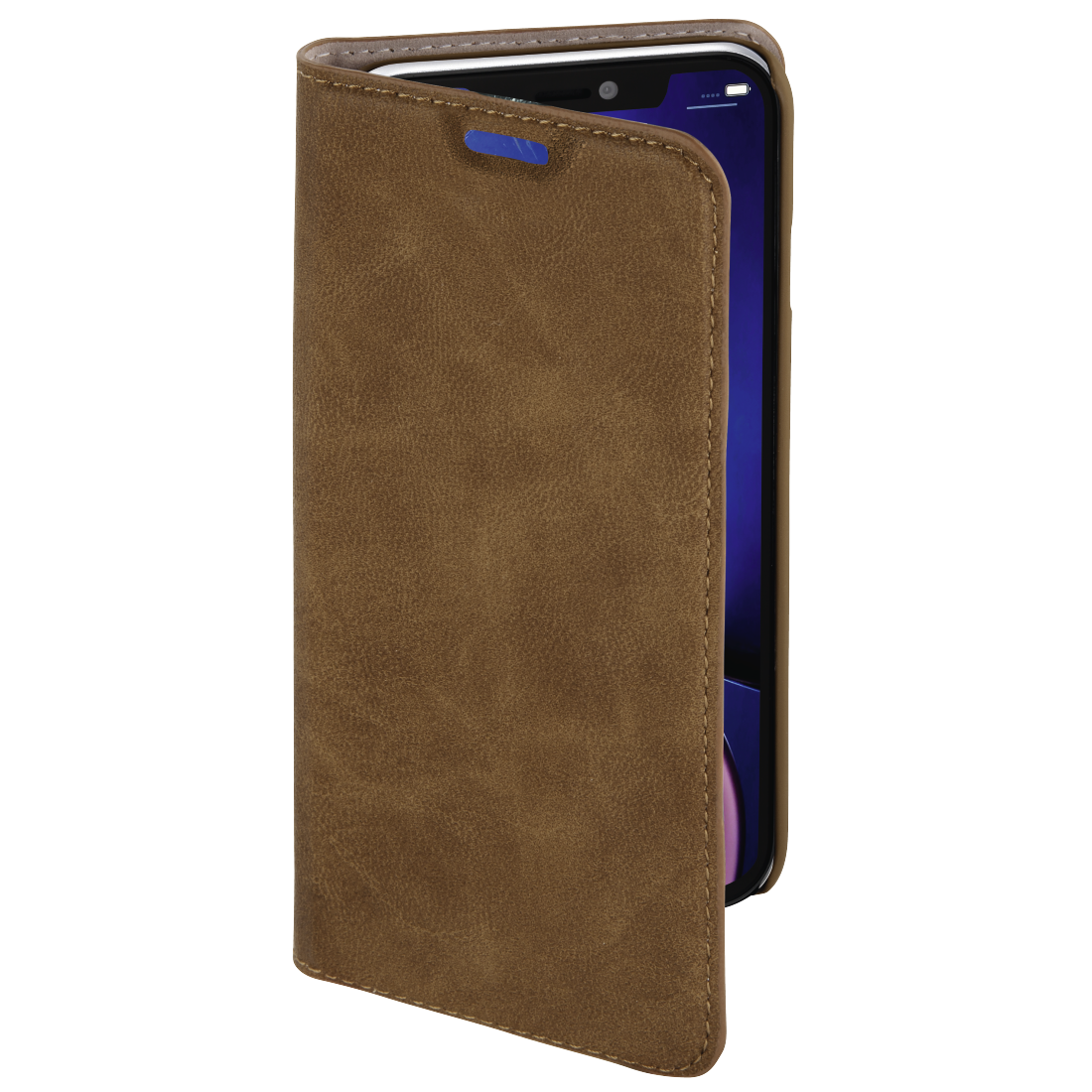 abx3 High-Res Image 3 - Hama, Guard Case booklet for Apple iPhone XR, brown