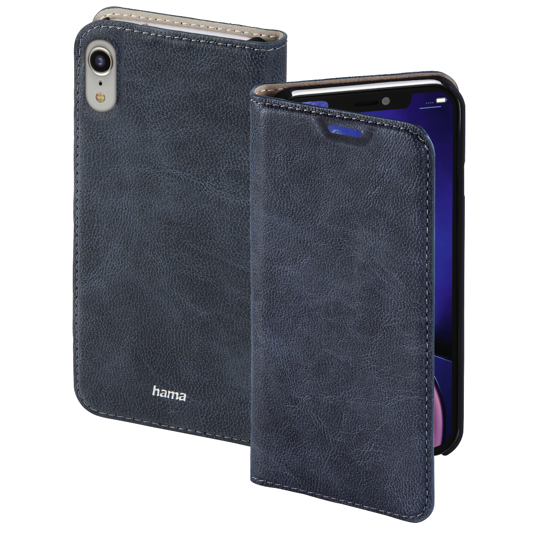 abx High-Res Image - Hama, Guard Case booklet for Apple iPhone XR, blue