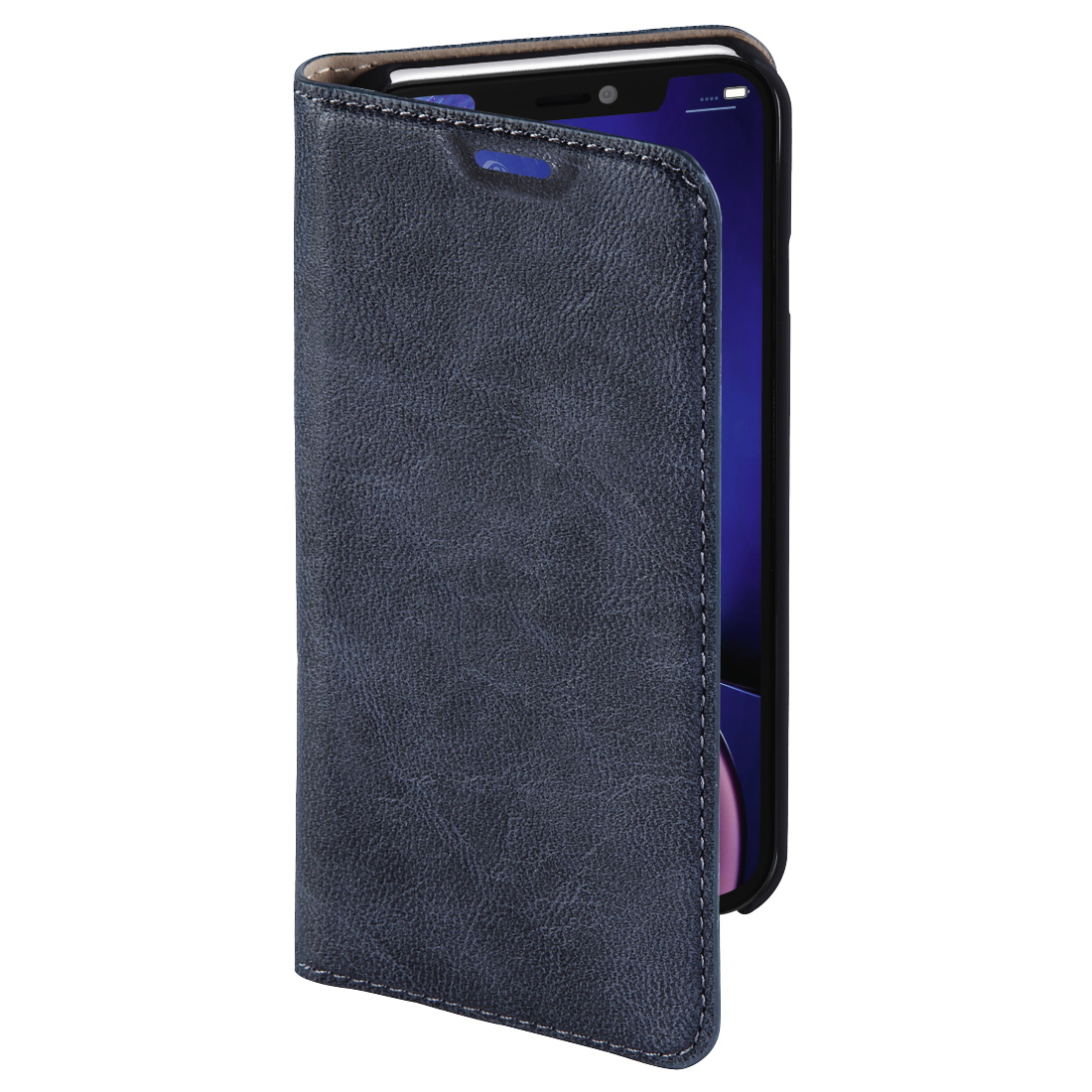abx3 High-Res Image 3 - Hama, Guard Case booklet for Apple iPhone XR, blue