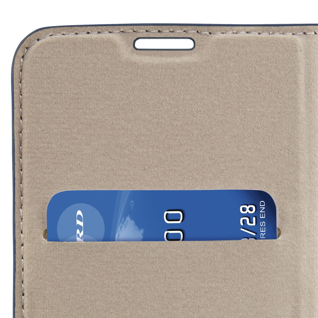 "dex High-Res Detail - Hama, ""Guard Case"" booklet for Apple iPhone Xs Max, blue"