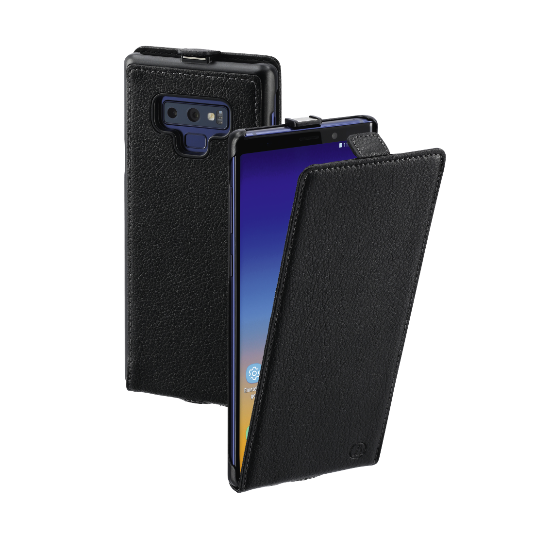 "abx High-Res Image - Hama, ""Smart Case"" Flap Case for Samsung Galaxy Note 9, black"