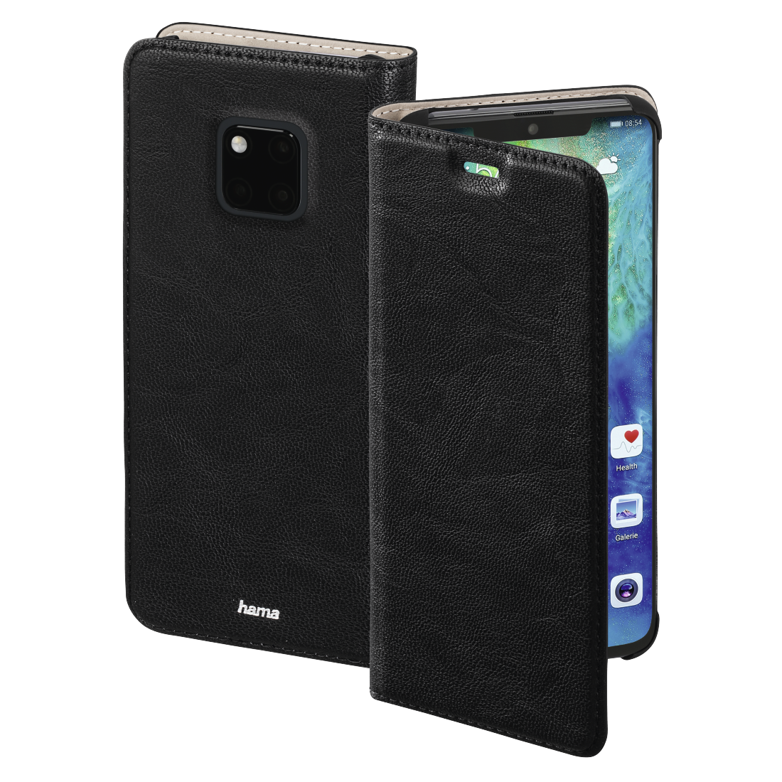 abx High-Res Image - Hama, Guard Case Booklet for Huawei Mate 20 Pro, black